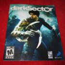Dark Sector : Playstation 3 PS3 Video Game Instruction Booklet