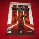 Unreal Tournament : Xbox 360 Video Game Instruction Booklet