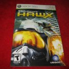 Tom Clancy's H.A.W.X : Xbox 360 Video Game Instruction Booklet