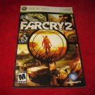 Farcry 2 : Xbox 360 Video Game Instruction Booklet