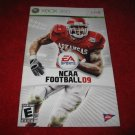 NCAA Football 09 : Xbox 360 Video Game Instruction Booklet