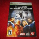 Fantastic Four, Rise of the Silver Surfer : Xbox 360 Video Game Instruction Booklet