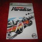 Burnout Paradise : Xbox 360 Video Game Instruction Booklet