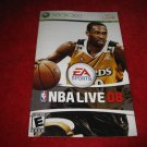 NBA Live 08 : Xbox 360 Video Game Instruction Booklet