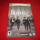 The Beatles Rockband : Xbox 360 Video Game Instruction Booklet