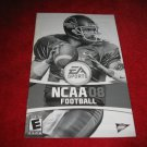 NCAA Football 08 : Playstation 2 PS2 Video Game Instruction Booklet
