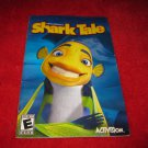 Shark Tale  : Playstation 2 PS2 Video Game Instruction Booklet