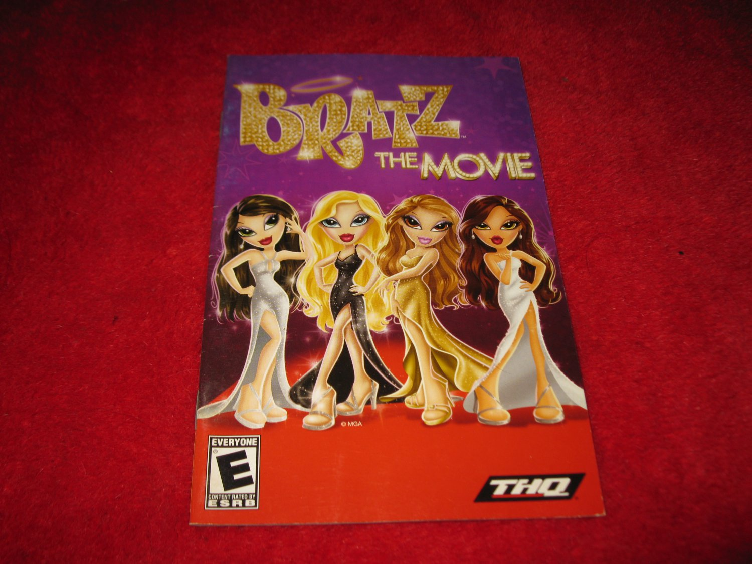 Bratz the Movie  : Playstation 2 PS2 Video Game Instruction Booklet