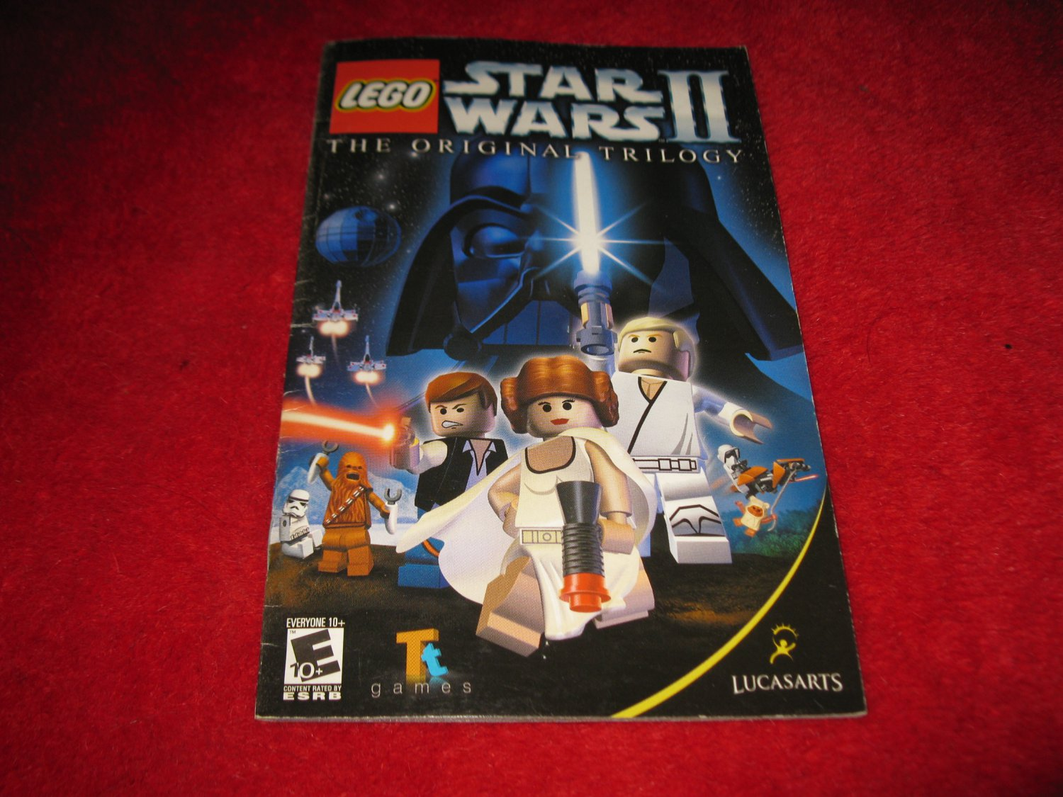 Lego Star Wars II , The Original Trilogy : Playstation 2 PS2 Video Game Instruction Booklet