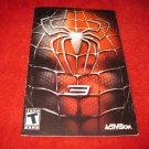 Spider-Man 3 : Playstation 2 PS2 Video Game Instruction Booklet