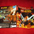 Lego Star Wars : Playstation 2 PS2 Video Game Case Cover Art insert