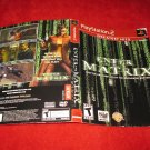Enter the Matrix : Playstation 2 PS2 Video Game Case Cover Art insert