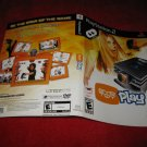 Eyetoy Play System : Playstation 2 PS2 Video Game Case Cover Art insert
