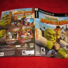 Shrek Super Slam : Playstation 2 PS2 Video Game Case Cover Art insert