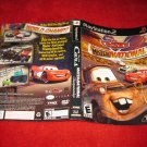 Cars Mater-National : Playstation 2 PS2 Video Game Case Cover Art insert