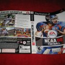 NCAA Football 08 : Playstation 2 PS2 Video Game Case Cover Art insert