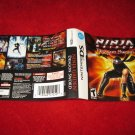 Ninja Gaiden Dragon Sword : Nintendo DS Video Game Case Cover Art insert