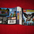 Lego Batman : Nintendo DS Video Game Case Cover Art insert