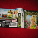 Tinkerbell : Nintendo DS Video Game Case Cover Art insert