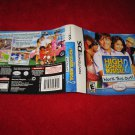 High School Musical 2 Work It Out : Nintendo DS Video Game Case Cover Art insert