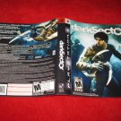 Dark Sector : Playstation 3 PS3 Video Game Case Cover Art insert