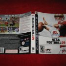 NCAA Football 09 : Playstation 3 PS3 Video Game Case Cover Art insert