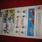 1984 Marvel Secret Wars Action Figure: Captain America - Original Cardboard Packaging Cardback