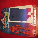 1984 Panosh Place/ Voltron Action Figure: Doom Commander- Original Cardboard Packaging Cardback