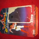 1984 Panosh Place / Voltron Action Figure: Keith - Original Cardboard Packaging Cardback