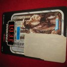 1983 Star Wars Return/ Jedi Action Figure: Logray- Original Cardboard Packaging Cardback