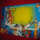 1992 Toybiz / Marvel Comics X-Men Action Figure: Shatterstar - Original Cardboard Packaging Cardback