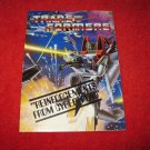 1984 Transformers Action Figure: Powerdasher Exclusive Offers Mail Away form-  foldout insert