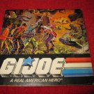 1986 G.I. Joe ARAH Action Figure: Identification Guide poster- Original packaging insert