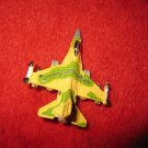 1992 Micro Machines Mini Diecast vehicle: F-16 Fighting Falcon Fighter Jet