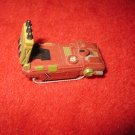 1992 Micro Machines Mini Diecast vehicle: Maroon / Green Missile Launcher