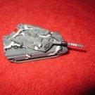 1996 Micro Machines Mini Diecast vehicle: M1A1 Abrams Tank Gray Camo