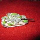 1996 Micro Machines Mini Diecast vehicle: M1A1 Abrams Tank Green Camo