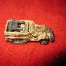 Micro Machines Mini Diecast vehicle: Military Gun Truck - tan camo w/ trax