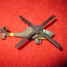 1992 Micro Machines Mini Diecast vehicle: Helicopter Bell AH-64A Apache