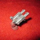 Micro Machines Mini Diecast playset part: Maroon/ Gray Laser Gun