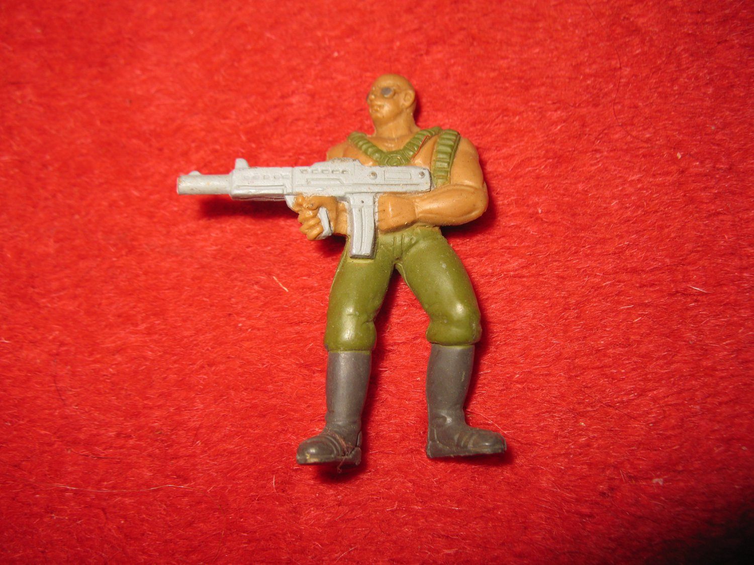 1986 GUTS Action Figure: A19 Machine Gunner