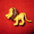 "vintage cartoon Lion Mini Figure 2"" long, painted"