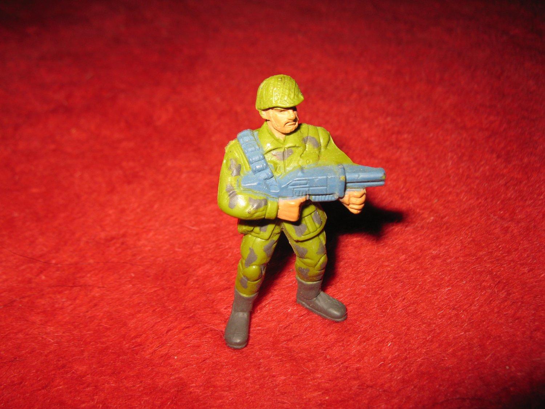 1986 GUTS Action Figure: B27 Standing Grunt w/ Grenade Launcher