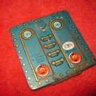 1960's Modern Toys - Toy Train Masudaya Pressed Steel Locomotive part: Rear Battery Bay door