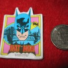 Vintage 1982 Cartoon Refrigerator Magnet: DC Comics Batman w/ Bat Signal