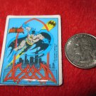Vintage 1982 Cartoon Refrigerator Magnet: DC Comics Batman w/ Tribal Bat Symbol