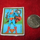 Vintage 1982 Cartoon Refrigerator Magnet: DC Comics Superman Breaking Chains