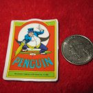 Vintage 1982 Cartoon Refrigerator Magnet: DC Comics The Penguin