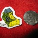 1980's Matchbox Off Road 4x4's Refrigerator Magnet: Caterpillar Buldozer