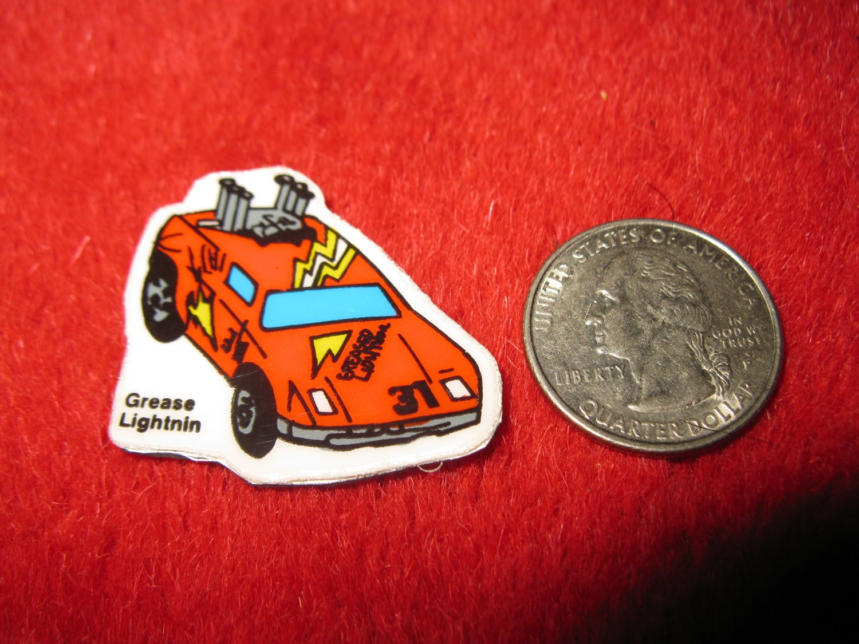 1980's Matchbox Off Road 4x4's Refrigerator Magnet: Grease Lightnin